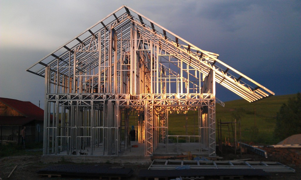 Casa structura metalica Cluj 200 mp