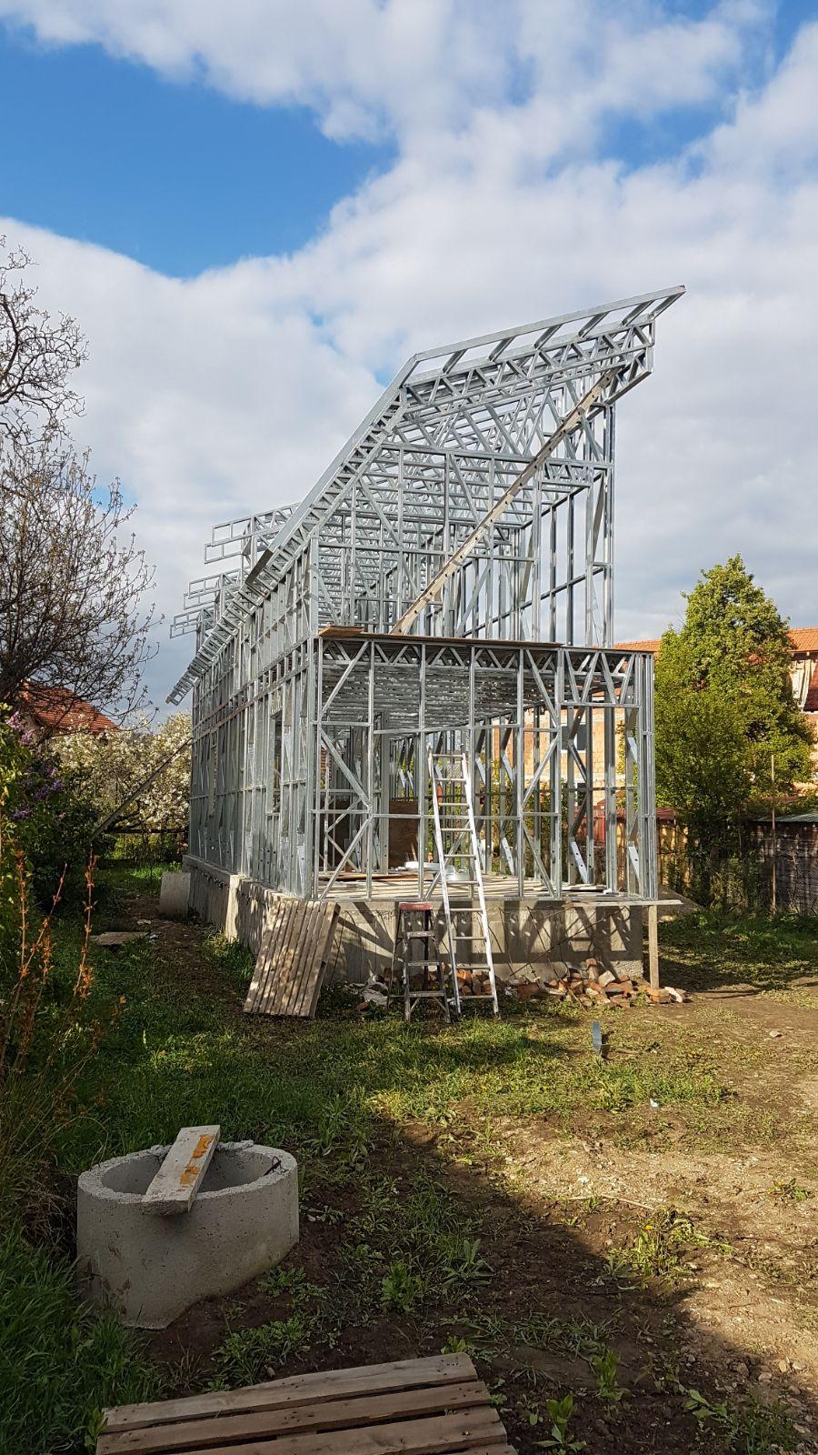 Casa pe structura metalica Cluj Napoca